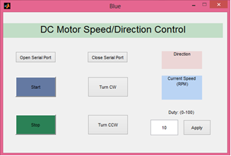 Real Time DC Motor Speed/Position Control with Bluetooth